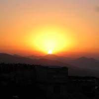 ヒマラヤの日の出